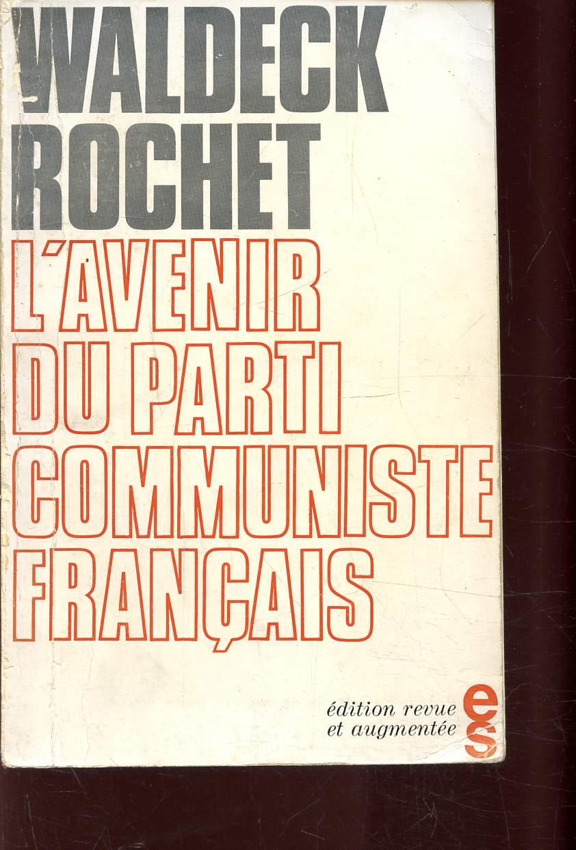 L'AVENIR DU PARTI COMMUNISTE FRANCAIS