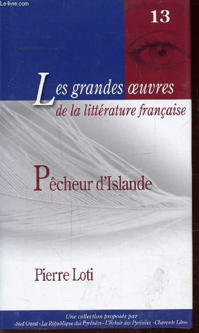 PECHEUR D'ISLANDE - N°13  -  Collection Les grandes oeuvres de la littérature française