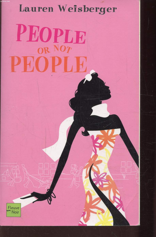 POEPLE OR NOT PEOPLE