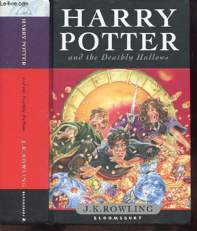 HARRY POTTER AND THE DEATHLY HALLOW'S- OUVRAGE EN ANGLAIS
