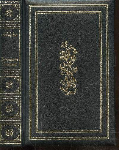 ADOLPHE - LE CAHIER ROUGE JOURNAL INTIME