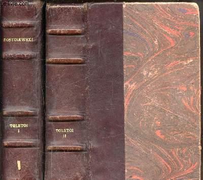 OEUVRES EN 2 VOLUMES - CRIMES ET CHATIMENTS  - ANNA KARENINE - RESURRECTION - LA GUERRE ET LA PAIX