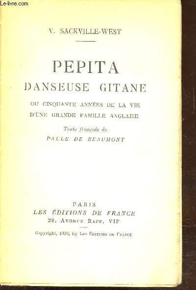 PEPITA - DANSEUSE GITANE