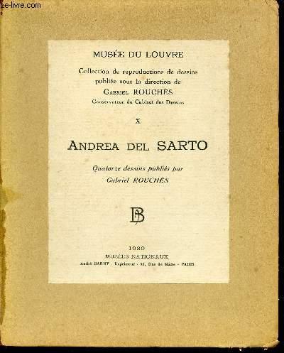 MUSEE DU LOUVRE - COLLECTION DE REPRODUCTIONS DE DESSINS - NUMERO 10 - ANDREA DEL SARTO