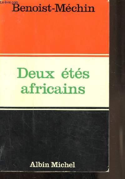 DEUX ETES AFRICAINS - MAI-JUIN 1967 / JUILLET 1971