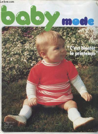 BABY MODE - TRICOT - N° 36 - MARS 1979 -