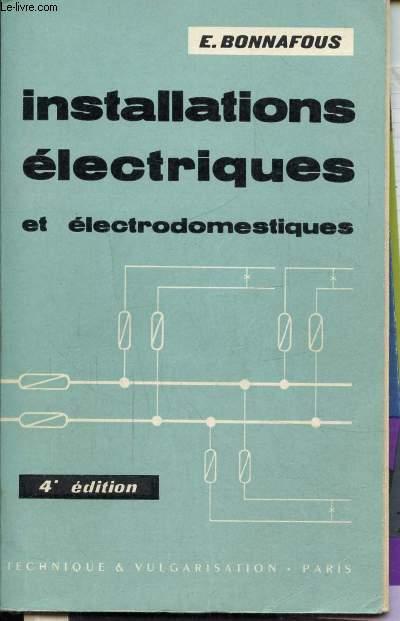 INSTALLATIONS ELECTRIQUES ET ELECTRODOMESTIQUES -