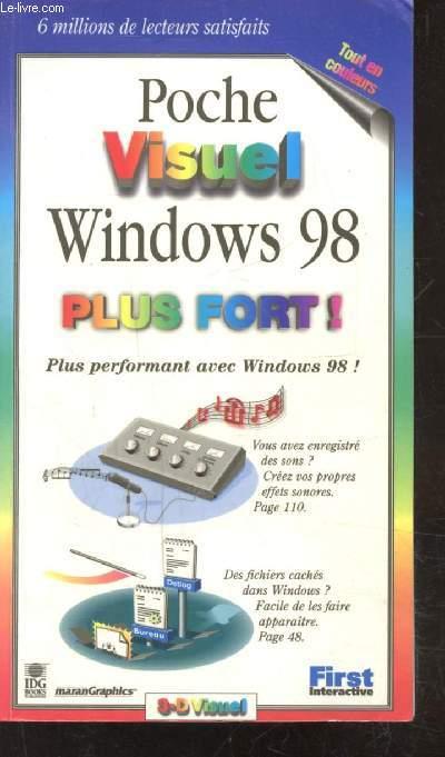 POCHE VISUEL - WINDOWS 98 - PLUS FORT! - PLUS PERFORMANT AVEC WINDOWS 98