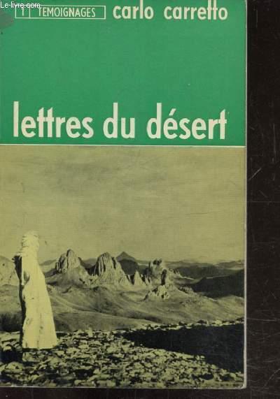 LETTRES DU DESERT