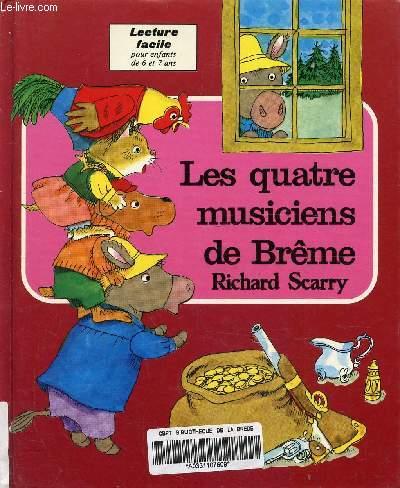 LES QUATRE MUSICIENS DE BREME - LECTURE FACILE POUR ENFANTS DE 6 ET 7 ANS.