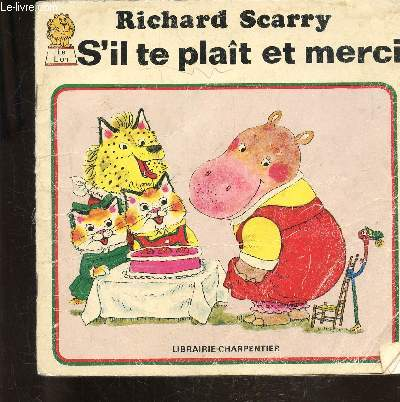 S'IL TE PLAIT ET MERCI - COLLECTION LE LION
