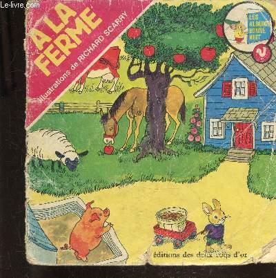 A LA FERME - ALBUMS BONNE NUIT -