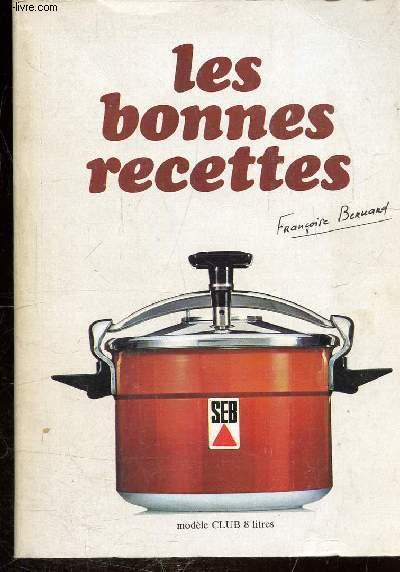LES BONNES RECETTES