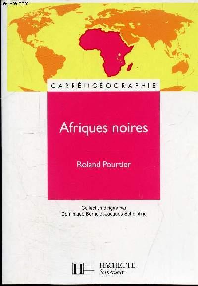 AFRIQUES NOIRES