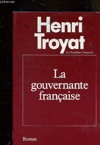 LA GOUVERNANTE FRANCAISE - ROMAN.