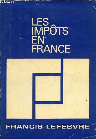LES IMPOTS EN FRANCE