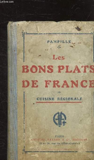 LES BONS PLATS DE FRANCE - CUISINE REGIONALE