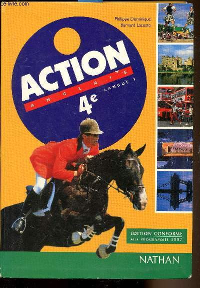 Action Anglais - 4e - Langue 1 -