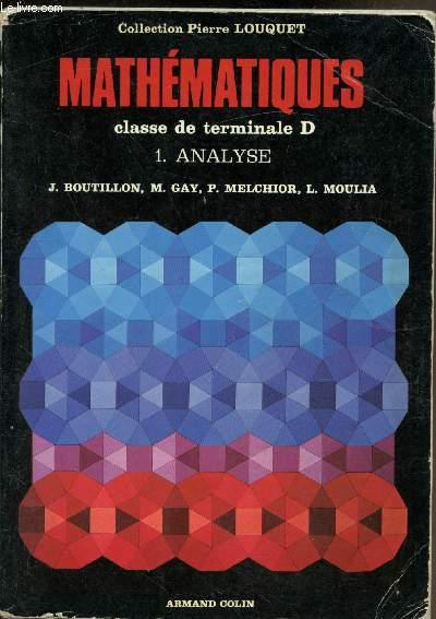 Mathématiques - Classe de terminale D -