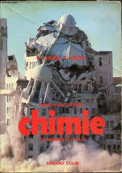 Chimie - Terminales C, D et E;