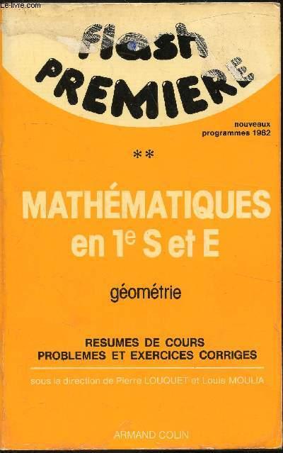Mathématiques en 1e S et E - Volume 2 - Géométrie