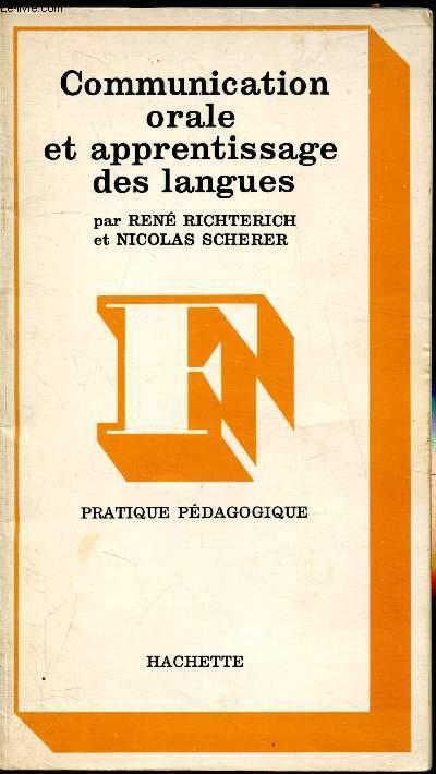 Communication orale et apprentissage des langues - pratique pédagogique