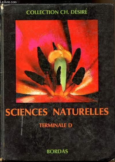 Sciences naturelles - Terminale D -