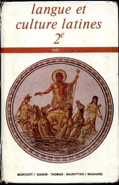 Langue et culture latines - 2e