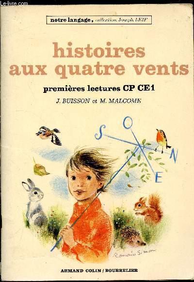 Histoires aux quatre vents - premières lectures CP CE1