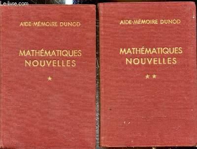 Aide Mémoire - Mathématiques Nouvelles - 2 Tomes -