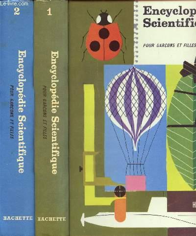 Encyclopédie Scientifique pour garçons et filles - 2 volumes