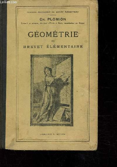 Géométrie du Brevet élémentaire -