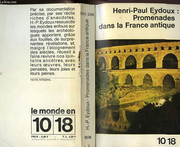 PROMENADES DANS LA FRANCE ANTIQUE.