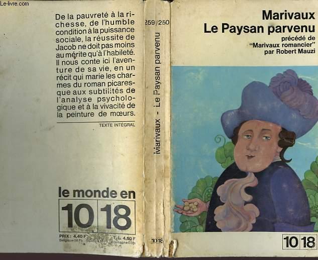 LE PAYSAN PARVENU.