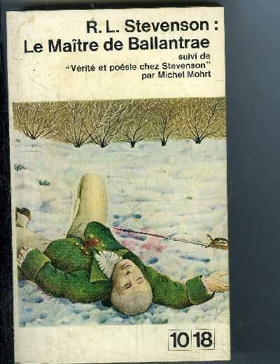 LE MAITRE DE BALALANTRAE
