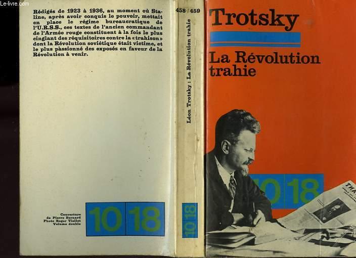 LA REVOLUTION TRAHIE.(1936)