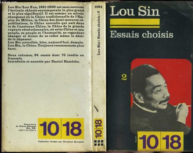 ESSAIS CHOISIS TOME 2.