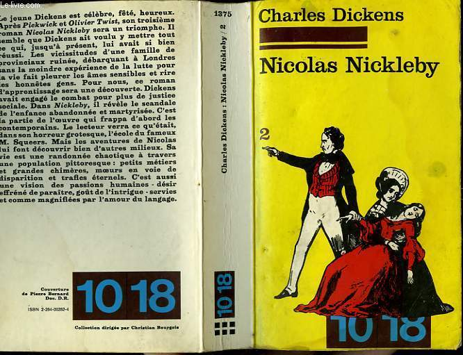 NICOLAS NICKLEBY TOME 2