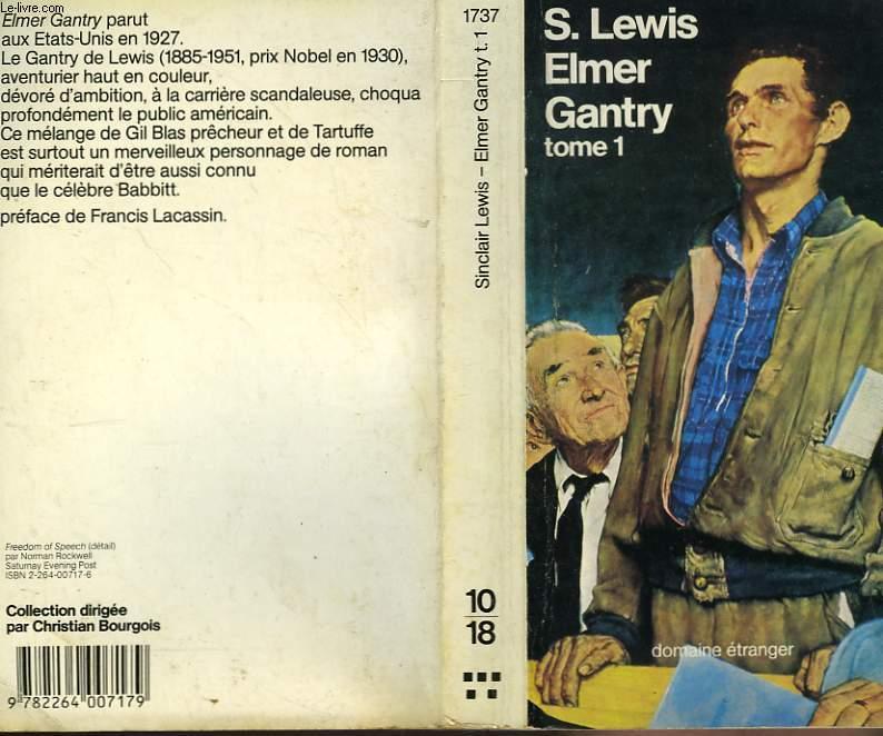 EMER GANTRY TOME 1.