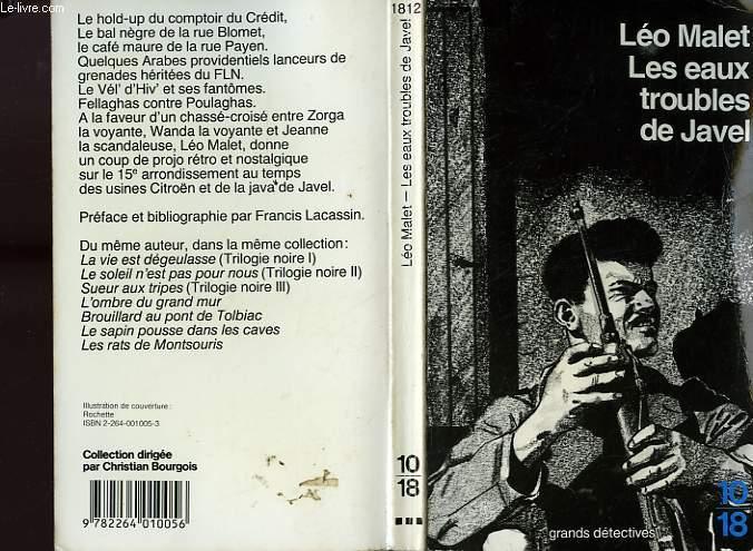 LES EAUX TROUBLES DE JAVEL.