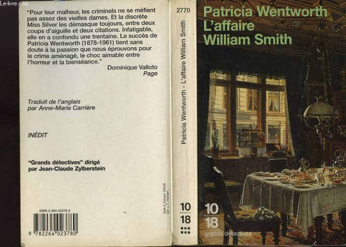 L'AFFAIRE WILLIAM SMITH.