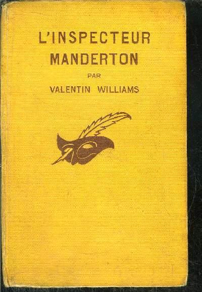 L'  INSPECTEUR MANDERTON
