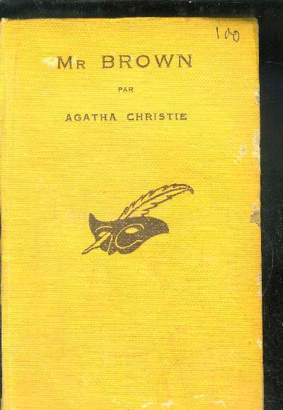 M BROWN. (The secret adversary).