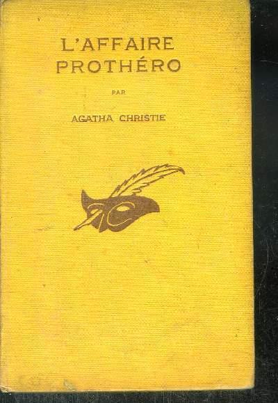 L AFFAIRE PROTHERO
