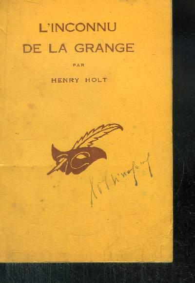 L INCONNU DE LA GRANGE. (Gallows Grange).