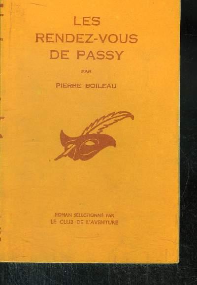 LES RENDEZ-VOUS DE PASSY
