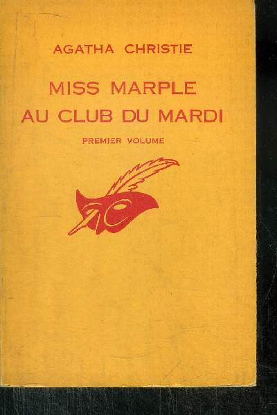 MISS MARPLE AU CLUB DU MARDI Premier volume