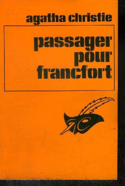 PASSAGER POUR FRANCFORT