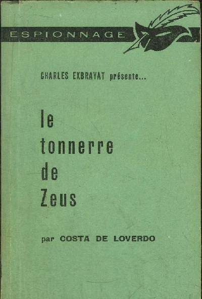 LE TONNERRE DE ZEUS