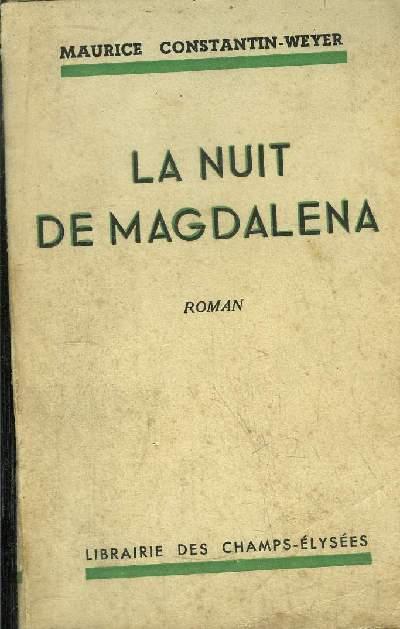 LA NUIT DE MAGDALENA